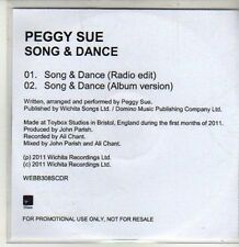(CS999) Peggy Sue, Song & Dance - 2011 DJ CD