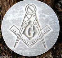 Masonic Freemason plaque mold garden ornament stepping stone mould