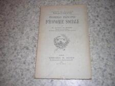 1903.premiers principes d'économie sociale / Rubat du Mérac.non coupé