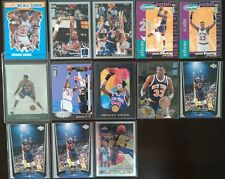 1990-94-95-96-97-98 (LOT OF 13 WITH 7 INSERTS!!) PATRICK EWING CARDS IN MT/NRMT!