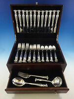 Romance of the Sea by Wallace Sterling Silver Flatware Set 12 Service 51 Pcs