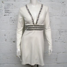 Venus Women's Size 2 Embellished with Rhinestones V-neck New Dress
