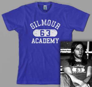 Pink Floyd Gilmour Academy 63 T Shirt, David Gilmour, the wall, dark side moon