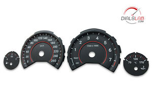 3D for BMW F30 F31 F32 F33 F34 F36 - Speedometer dials from MPH to Km/h Gauges