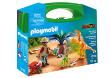 Playmobil 70108 Dinos Dino Explorer Carry Case MIB/New