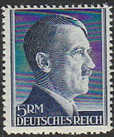 Stamp Germany Mi 802A Sc 527 1941 WW2 3rd Reich War Hitler War Party MNH