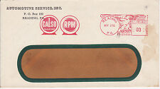 POSTAL HISTORY ADVERTISING METERED COM COVER 1950 AUTOMOTIVE SERVICE INC #2