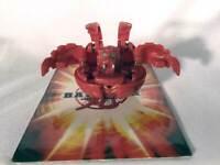 Bakugan Battle Brawlers Red Pyrus Small 520 G & Random Card Spin Master Sega