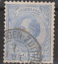 NVPH Netherlands Nederland 19 CANCEL GRONINGEN-ZUTPHEN Willem III 1872