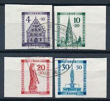 Gestempelte Briefmarken aus der französische Zone (ab 1945) für Architektur