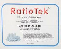 Forrester Outback WRX Auto Trans Performance Shift Kit 1998-2007 RatioTek