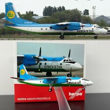 ** SALE ** Antonov AN-24B Uzbekistan Airways Reg: UK-46373 , 1:200 scale , Herpa