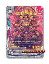 Buddyfight x 4 Blowout Emperor, Las Volganon [H-BT03/0064EN U] English Mint Futu