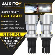 2X AUXITO T15 921 912 Backup Reverse Light LED Bulb Canbus White 6000K W16W EOA