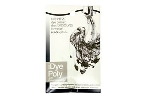 Jacquard iDye Poly Fabric Dye for Polyester & Synthetic Materials- Black