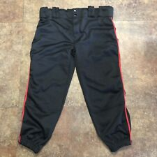 Champro Softball Pants Womens M Black Medium Baseball Pant