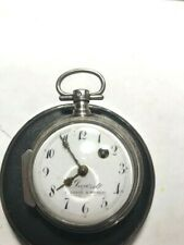 French Spindle  c 1800 Verge fuse pocket watch