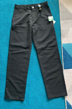 Uniform Next Boys Jean Style School Trousers Age 16 Years BNWT Teflon Black