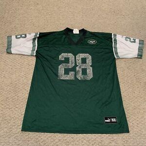 VTG Curtis Martin New York Jets NFL Football Jersey PUMA 1990s Men's XL