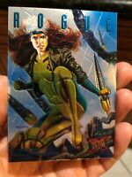 1995 ULTRA FLEER SINISTER OBSERVATIONS INSERT CARD 8 OF 10 Rogue