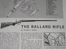 BALLARD RIFLE EXPLODED VIEW