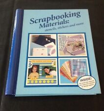 SCRAPBOOKING MATERIALS by Bay Books, stencils, stickers and more, (never used)