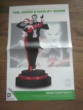 Promo Poster - Joker & Harley Quinn - 2015 - DC Comics - JUN1418147           ZZ