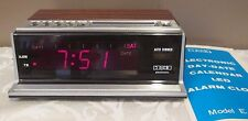 VINTAGE COSMO ELECTRONICS ALARM CLOCK MODEL E-903 WORKS GREAT