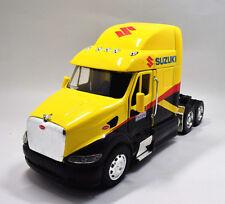 New Ray 1:32 Peterbilt 387 Suzuki Factory Semi Diecast Truck Model Yellow