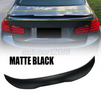 For BMW 3 Series F30 F80 MPS Style Carbon Fiber Color Trunk Boot Spoiler  !L