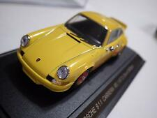 Ebbro Oldies Yellow/Red Piping Porsche 911 Carrera Rs 1973 Diecast 1:43 Nib
