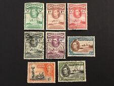 old stamps  GOLD COAST   x  8