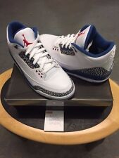 Nike Air Jordan 3 Retrò True Blue 2009 UK Nuovo di Zecca 11 Stati Uniti 12