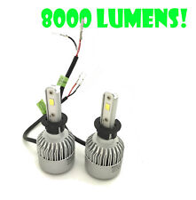H3 COB LED FOG-LIGHT BULBS KIT 8000lm CANBUS For Toyota COROLLA 97-02 SUPRA