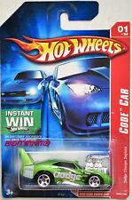 Hot Wheels 2007 Código Coche Dodge Cargador Daytona Verde