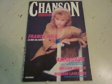 CHANSON N°11 FRANCE GALL / RENAUD/ LAVILLIERS