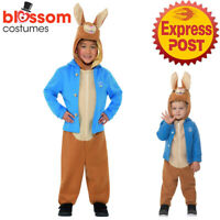 CK1764 Deluxe Peter Rabbit Costume Kid Fairy Tale Beatrix Potter Child Book Week