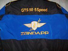 NEU ZÜNDAPP GTS 50 5Speed Oldtimer Fan-Jacke schwarz/blau veste jacket jakka jas