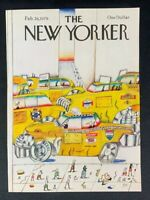 COVER ONLY ~ The New Yorker Magazine, February 26, 1979 ~ Saul Steinberg