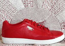 Puma Match Vulc Tennis Shoes Womens Size 9     Red Leather