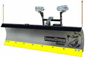 SnowDogg/Buyers Products 16120620, Black Steel Cutting Edge for HD80/EX80 Plow