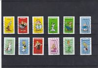 FRANCE 2019 ASTERIX SERIE COMPLETE DE 12 TIMBRES OBLITERES
