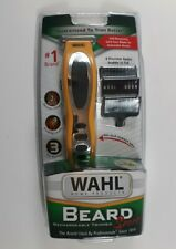 Wahl Beard Sport Rechargeable Trimmer Self Sharpening Blades