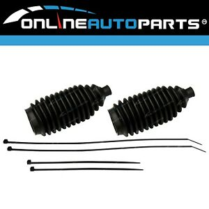 Left & Right Steering Rack Boots suits Ford Falcon AU BA BF 6cyl V8 1998~2012