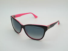 New Authentic CHROME HEARTS SKELLY GIRL BK-PRP Black/Pink 61mm Sunglasses