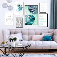 Poster Silber Effekt 6er-Set Bilder Set Posterset Wandposter Plakat Wandbild 384