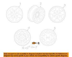 GM OEM Wheels-Cap 9597158