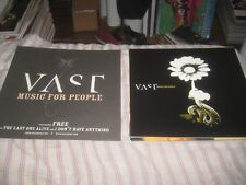 Vast-Music For People-1 Poster Flat-2 Sided-12X12 Inches-Nmint-Rare!