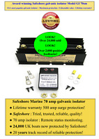 UK's Best selling marine galvanic isolator 500 amp surge unbeatable protection!