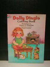 Vintage Doll Book - Dolly Dingle Coloring Book, Illustrations by Grace Drayton